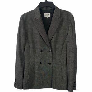 ARMANI COLLEZIONI Tweed Blazer Jacket sz 8
